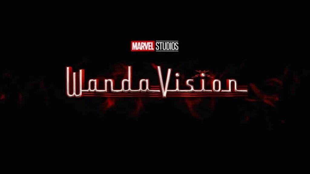 Wandavision Schriftzug