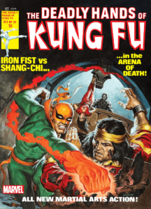 Deadly Hands Of Kung Fu Comic