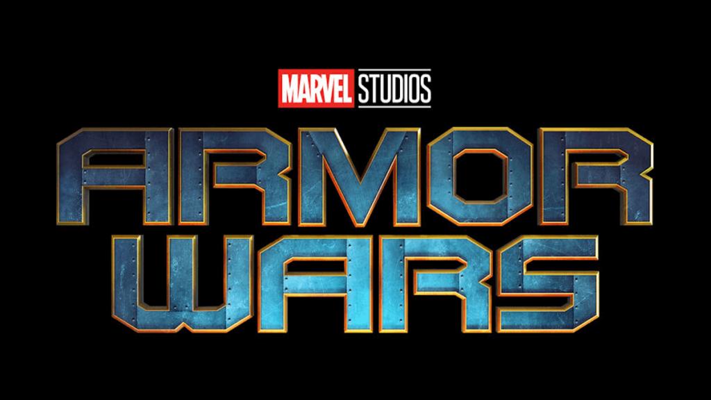 Armor Wars Marvel Serien Logo
