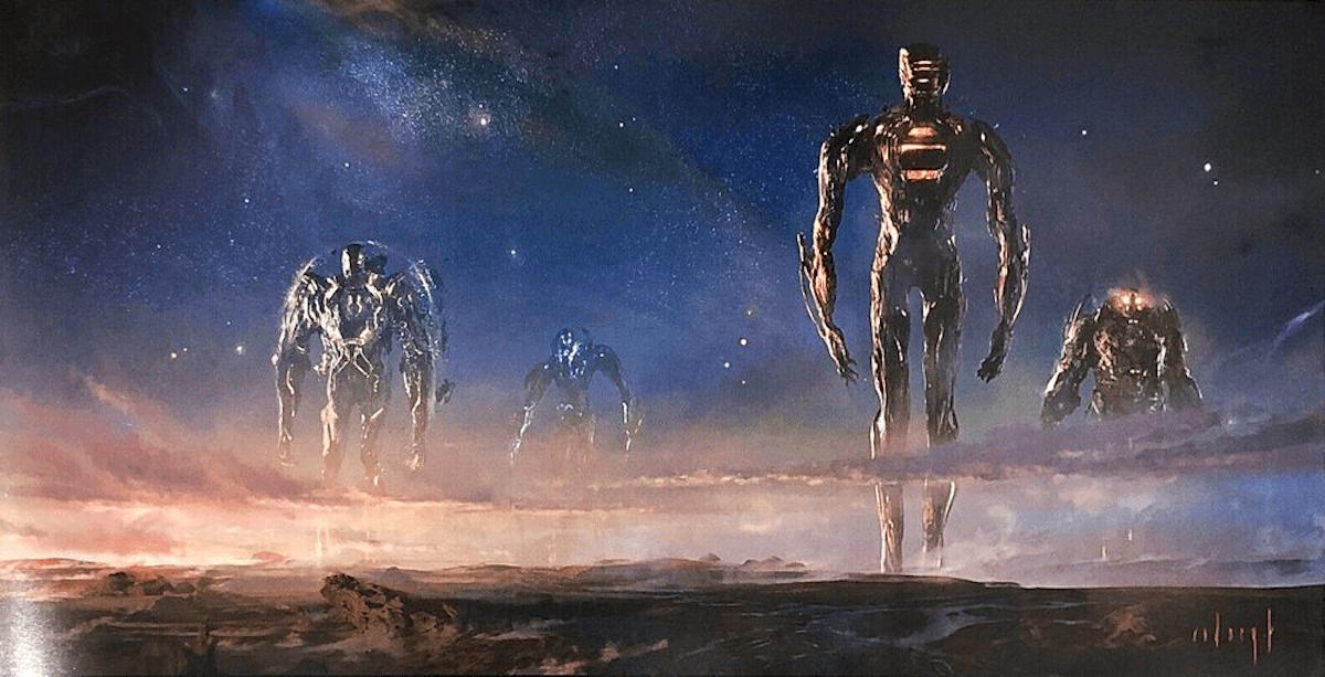 Vier Celestials