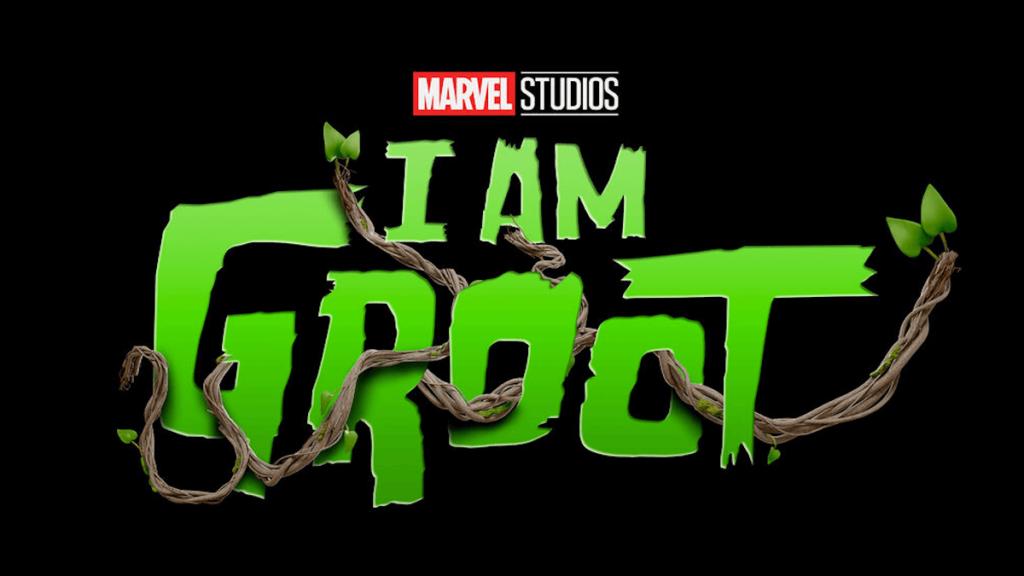 I am Groot Serien Logo