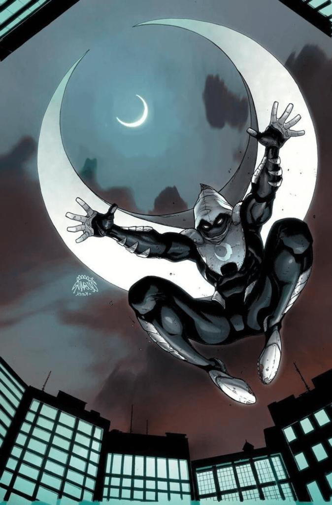Moon Knight in der Luft