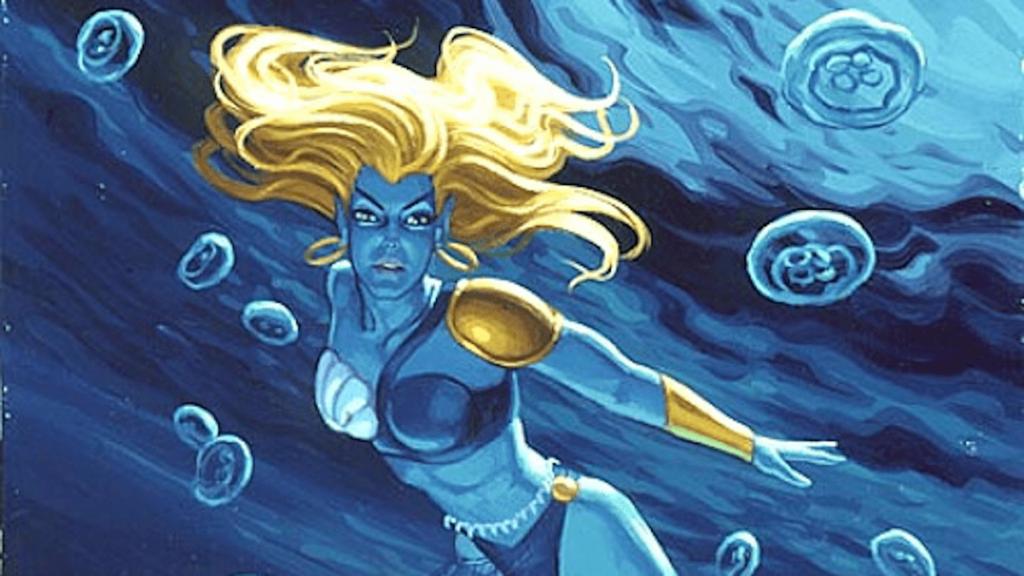 Namorita unter Wasser