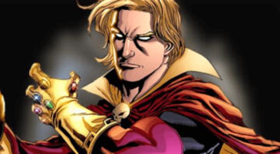 Adam Warlock mit Infinity Handschuh